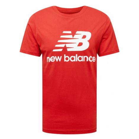 new balance Tričko  krvavo červená / biela