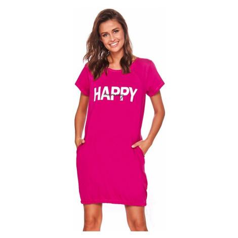 Materská košeľa Happy mommy fuchsie zips