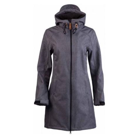 Lotto TINTA tmavo šedá - Dámsky softshellový kabát