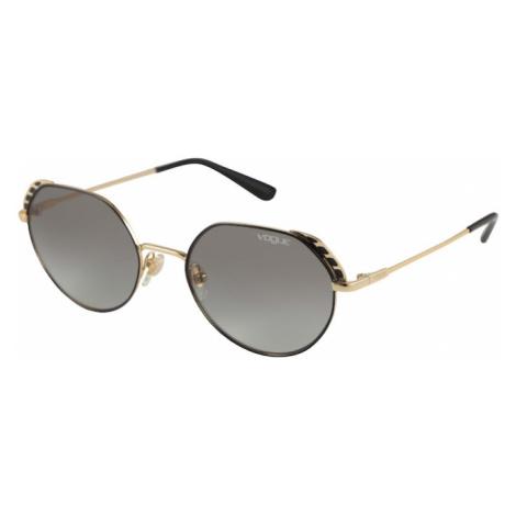 VOGUE Eyewear Slnečné okuliare  zlatá / čierna