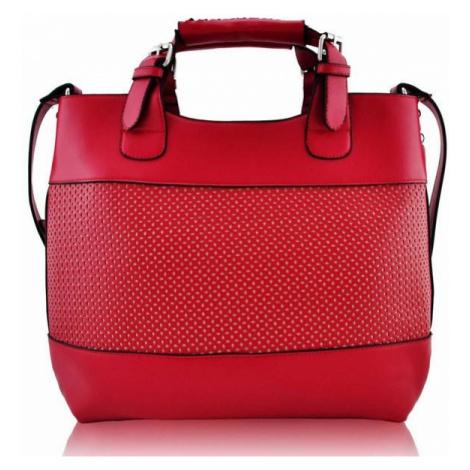 Štýlová kabelka - červená