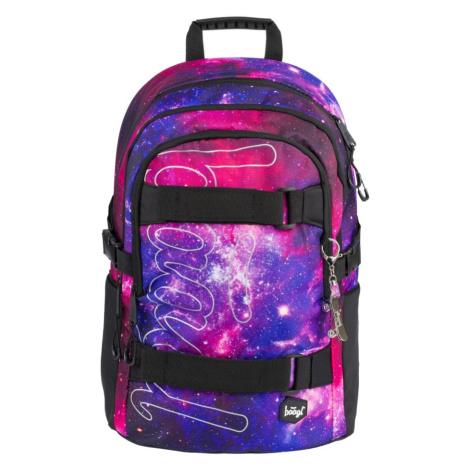 BAAGL Školský batoh Skate Galaxy 25 l