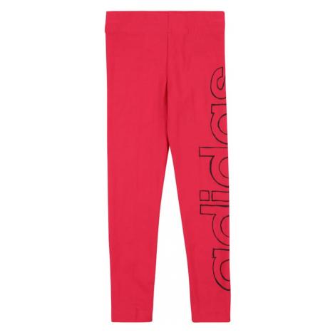 ADIDAS PERFORMANCE Športové nohavice  ružová / čierna
