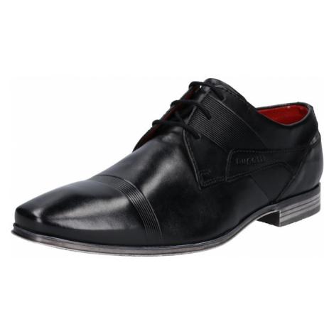 bugatti Šnurovacie topánky 'Morino'  čierna