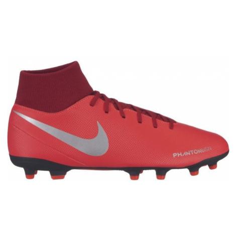 Nike PHANTOM VISION CLUB DYNAMIC FIT FG červená - Pánske lisovky