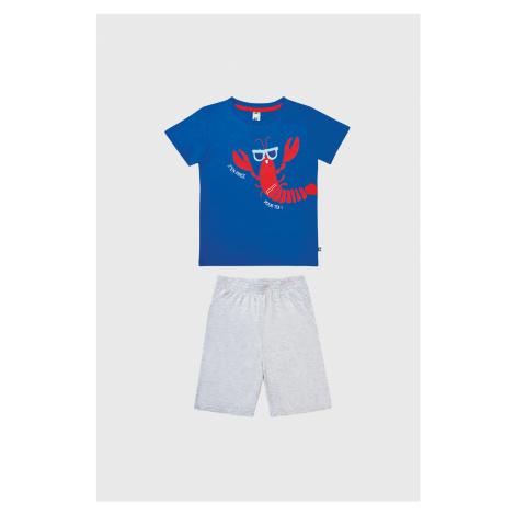 Chlapčenské pyžamo Rak modrá