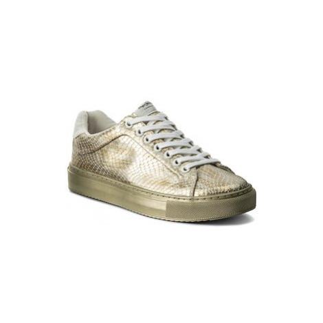 Pepe Jeans Sneakersy Adams Funk PLS30672 Zlatá