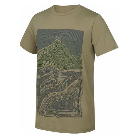 Husky Tash sv. olivová, Pánske tričko