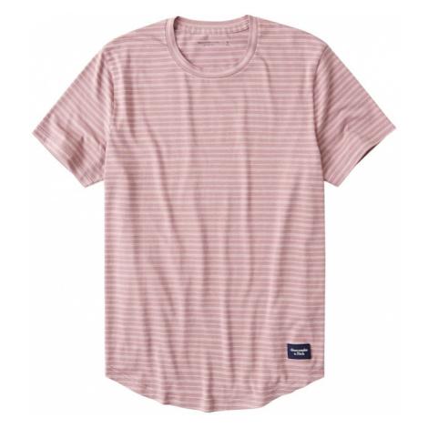 Abercrombie & Fitch Tričko  ružová / staroružová