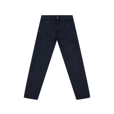 Pepe Jeans Bavlnené nohavice PB210138C41 Tmavomodrá Regular Fit