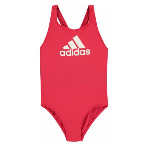 Adidas BOS Swimsuit Junior Girls Active Pink