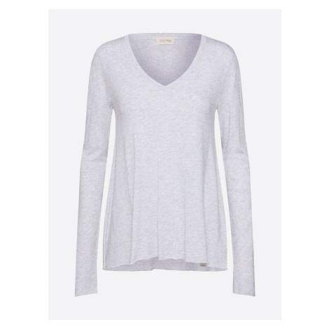 AMERICAN VINTAGE Tričko  sivá melírovaná