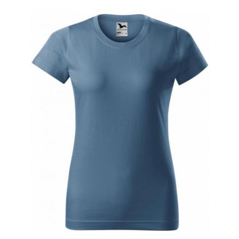 Dámske tričko jednoduché, denim