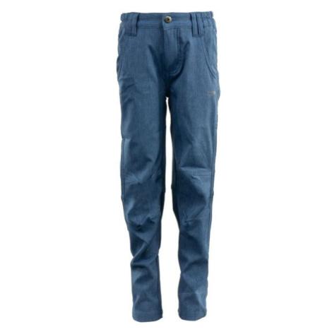 ALPINE PRO JERSO modrá - Detské nohavice