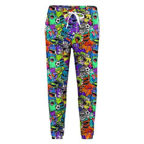 Mr. GUGU & Miss GO Unisex's Sweatpants SWPN-K-PC1595 Violet