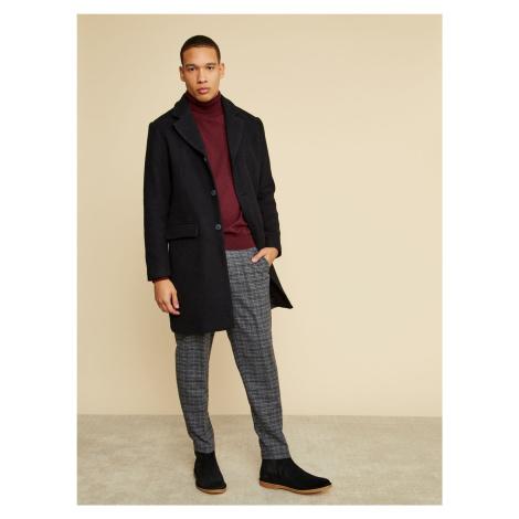 ZOOT Baseline čierne pánska kabát Christian