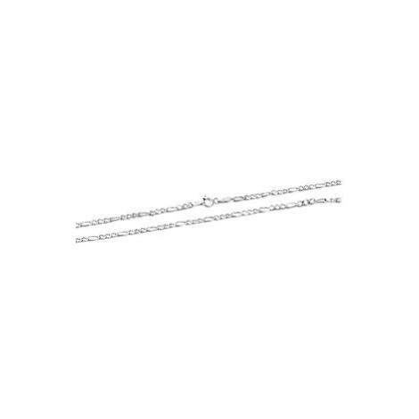 Beneto Moderné strieborná retiazka Figaro AGS1127 cm