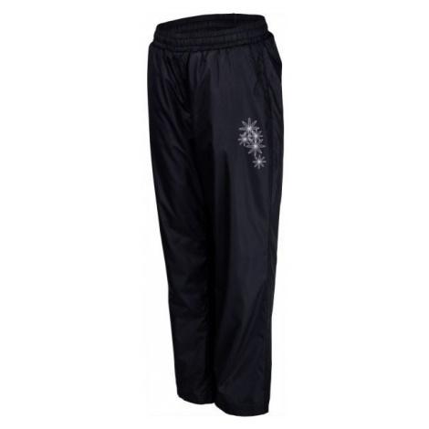 Lewro NOAM tmavo sivá - Detské zateplené nohavice