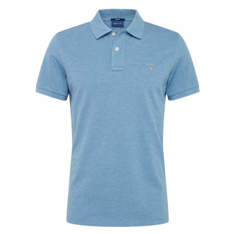 GANT Tričko  modrá melírovaná / modrá denim / svetlosivá / biela / ohnivo červená