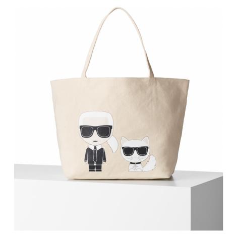 Kabelka Karl Lagerfeld Ikonik Karl & Choupette Tote
