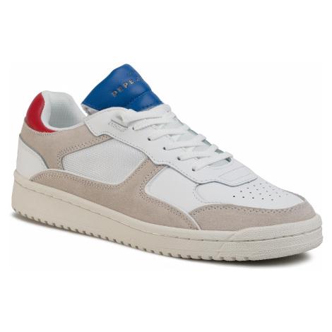 Sneakersy PEPE JEANS - Kurt 1973 PMS30597  Off White 803