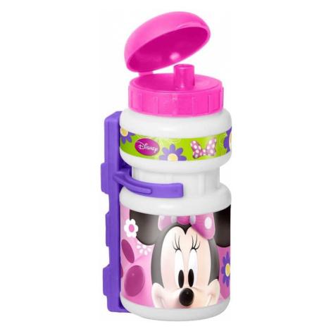 Plastová fľaša s držiakom Myška Minnie