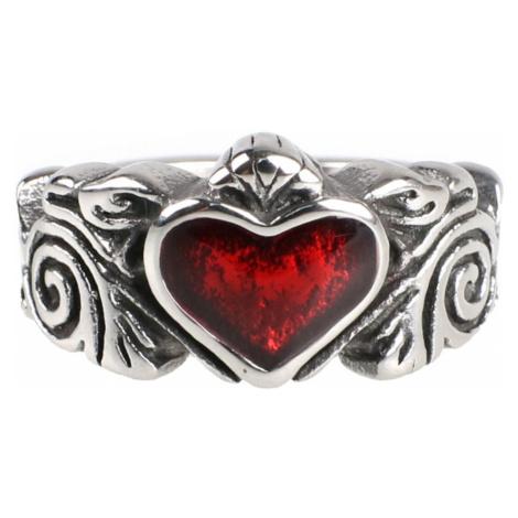 prsteň ETNOX - Black Heart - SR1211