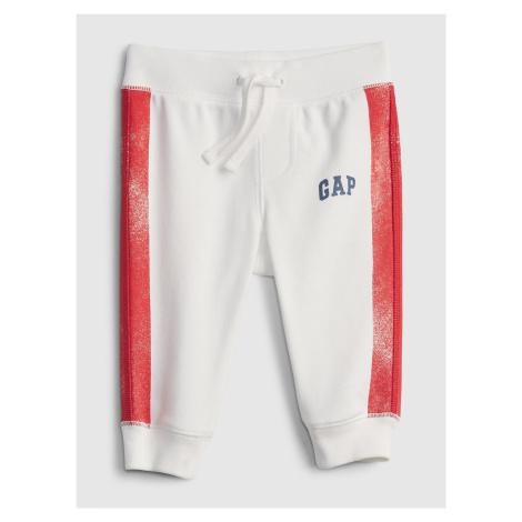 GAP Tepláky detské Červená Biela