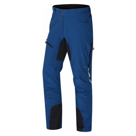 Husky Keson tm.modrá, Pánske softshell nohavice