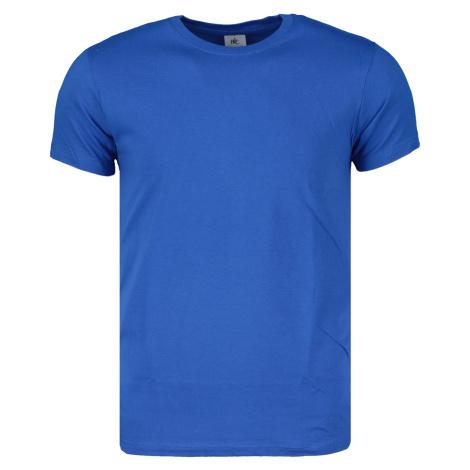 Tričko pánske B&C Basic ROYAL BLUE