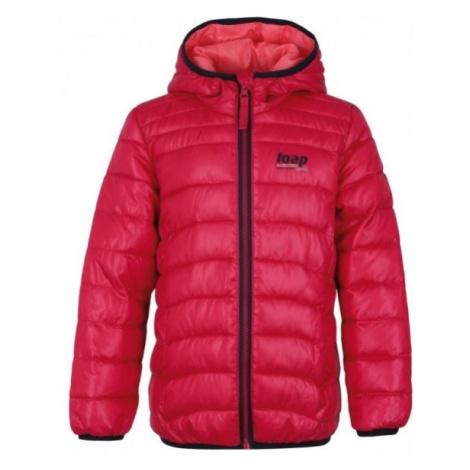 Loap IRENUS ružová - Detská zimná bunda