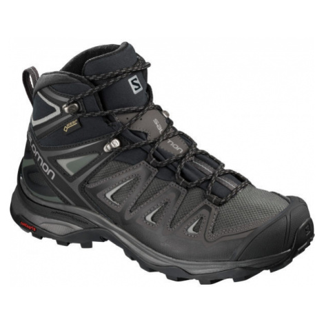 Salomon X ULTRA 3 MID GTX W šedá - Dámska turistická obuv