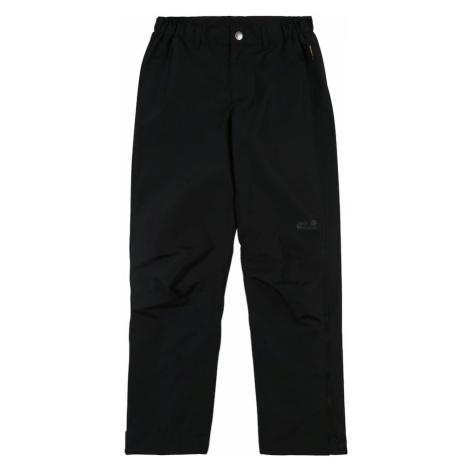 JACK WOLFSKIN Outdoorové nohavice  čierna