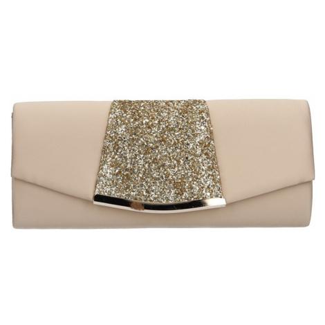 Dámska listova kabelka Michelle Moon Karla - zlatá