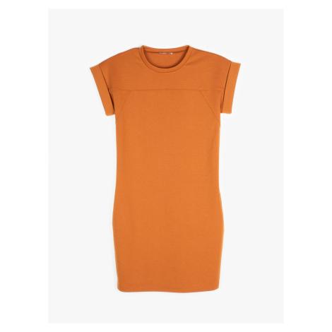 GATE Tričkové šaty s vreckami