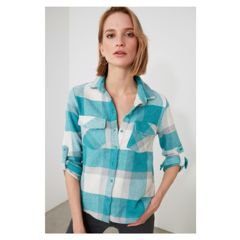 Dámska košeľa Trendyol Checkered