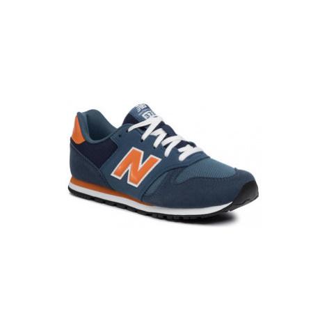 New Balance Sneakersy YC373KN Tmavomodrá