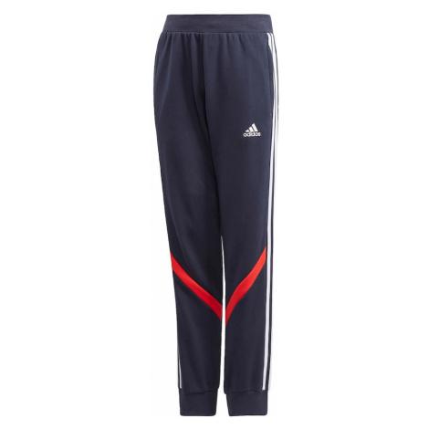 ADIDAS PERFORMANCE Športové nohavice 'Comfort'  biela / červená / námornícka modrá