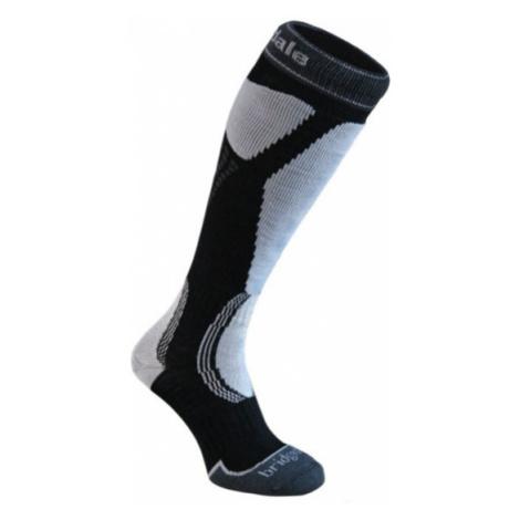 Ponožky Bridgedale Ski Easy On black / light grey/035