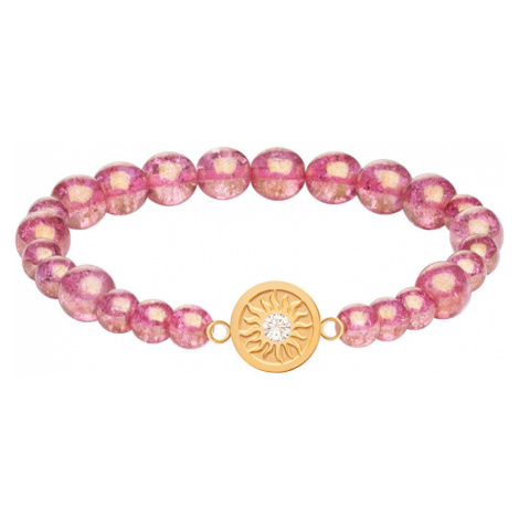 Preciosa Náramok z práskaných perlí Rosina 7369Y69