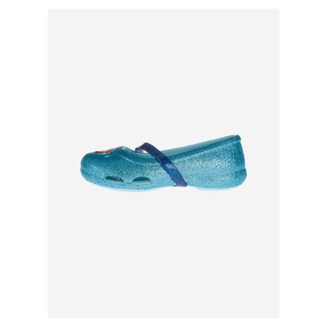 Crocs Lina Frozen™ Flat Baleríny dětské Crocs Modrá