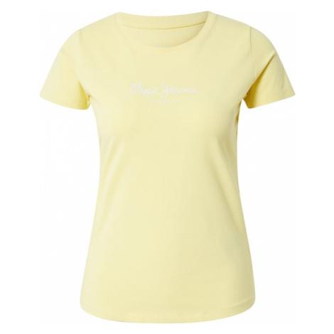 Pepe Jeans Tričko 'Virginia'  žltá