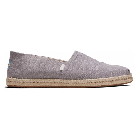 Toms Classic Grey Linen Men's-11 šedé 10014985-11