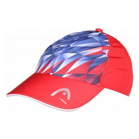 Light Function Cap 2019 čepice s kšiltem barva: červená Head