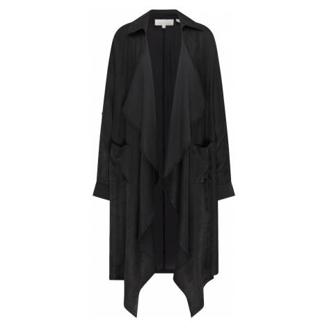 RISA Prechodná bunda  čierna melírovaná