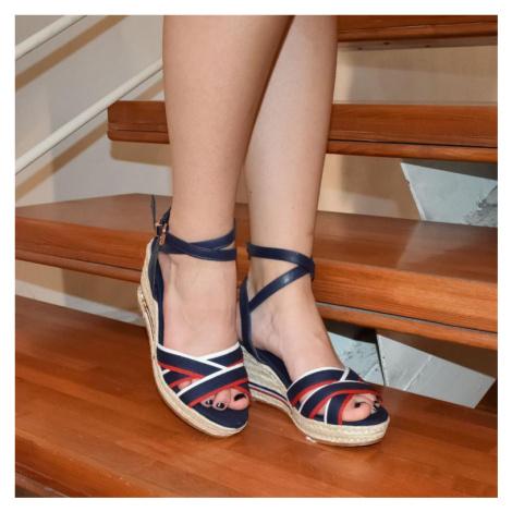 Dámske modré sandále NELLA COMER