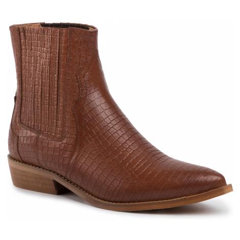 Kotníková obuv s elastickým prvkom L37