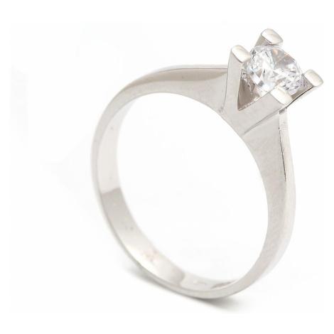 Zlatý zásnubný prsteň NOHEMI