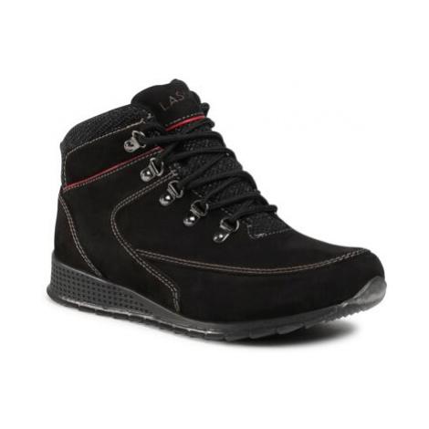 Šnurovacia obuv Lasocki for men MB-EAGER-01 Prírodná koža(useň) - Nubuk