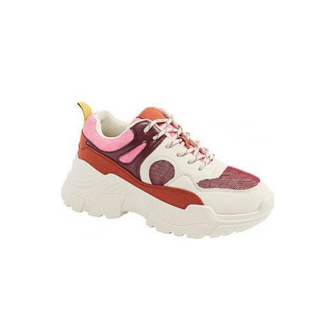 Bieločervené tenisky Vero Moda
